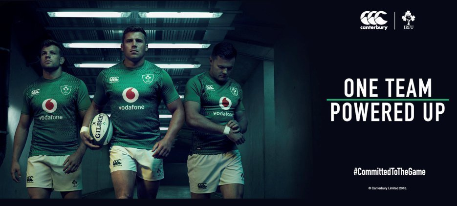 PERFORMANCE AT THE HEART OF NEW CANTERBURY IRELAND RUGBY RANGE
