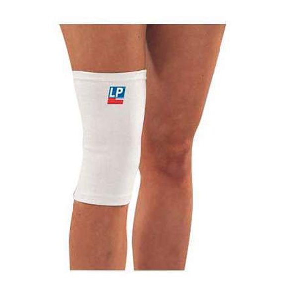 LP Elasticated Knee Support White