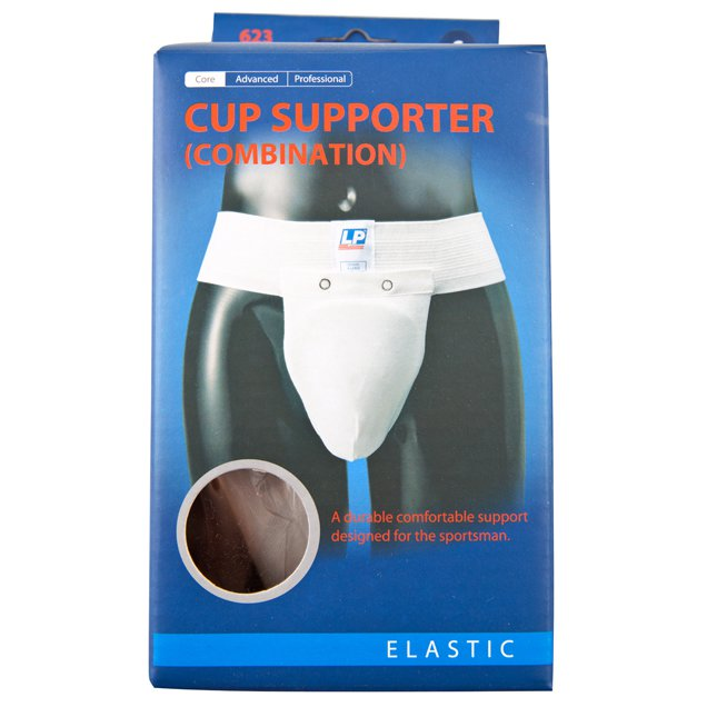 LP Athletic Supporter Cup White