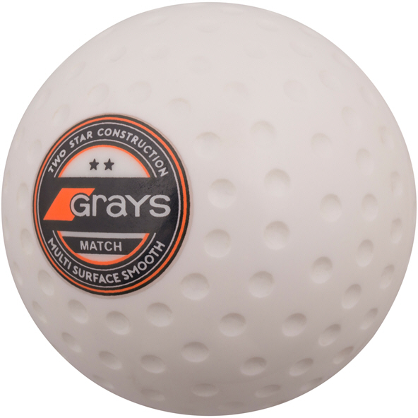 Grays Dimple Hockey Ball White