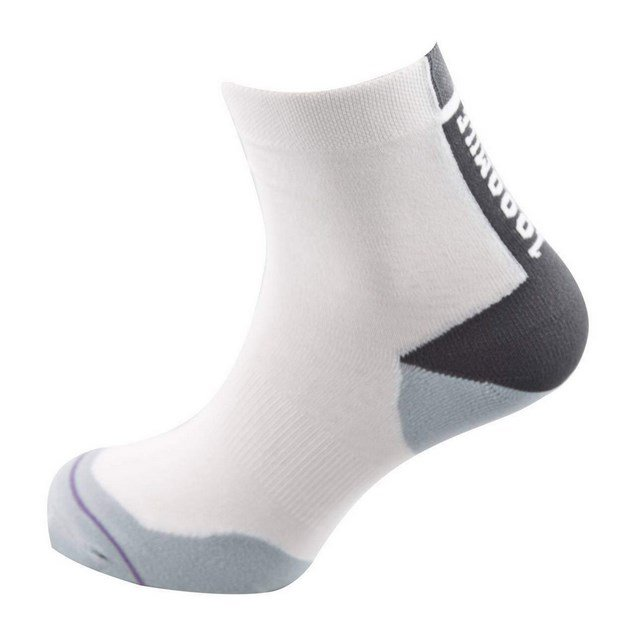 1000Mile Fusion Tactel Ladies Sock Wh/Gy