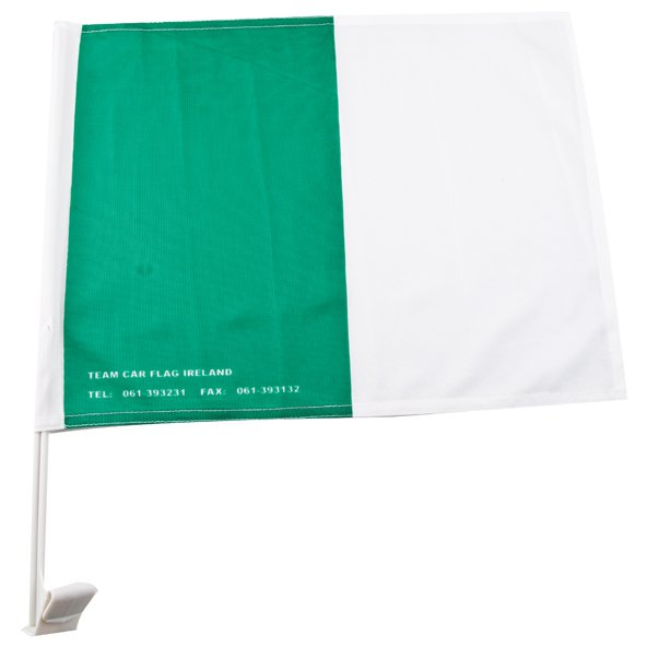 DJ Daly Carflag Green/White