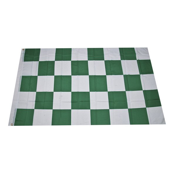 Green White 5x3 Flag