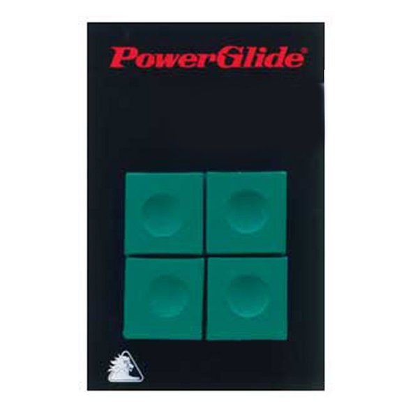 PowerGlide Cue Chalk x 4 Green