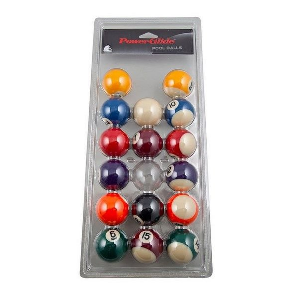PowerGlide Spots & Stripes Pool Balls