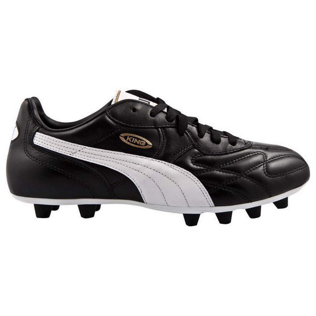 Puma King Top Boot FG Blk/Wht/Gld