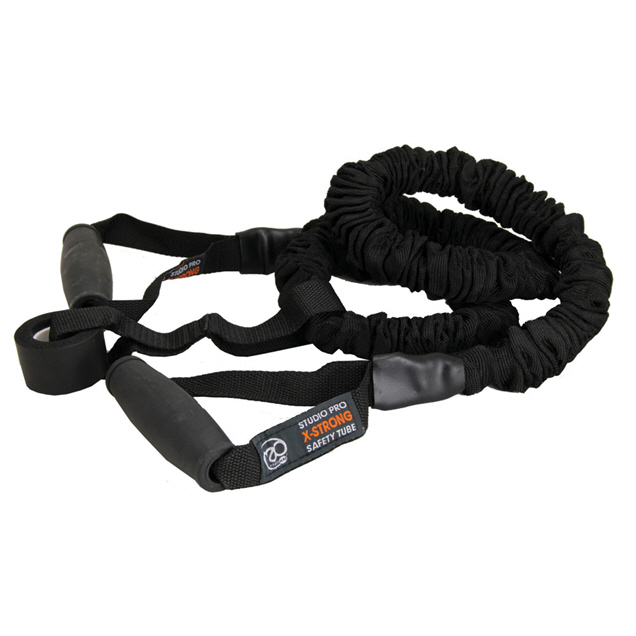 Fitness Mad Safety Resistance Tube Extra Strong Black