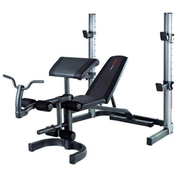 Weider Pro 490 Dc Olympic Weights Bench