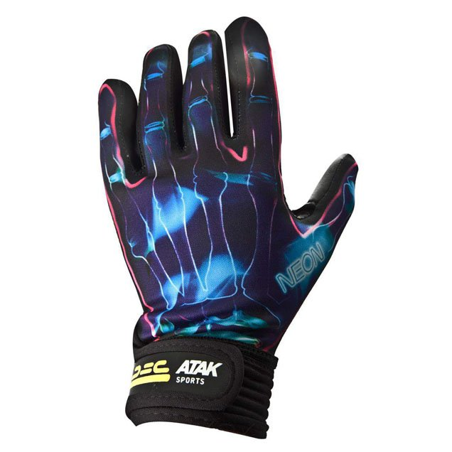 ATAK Sports Kids Neon Glove, Blue