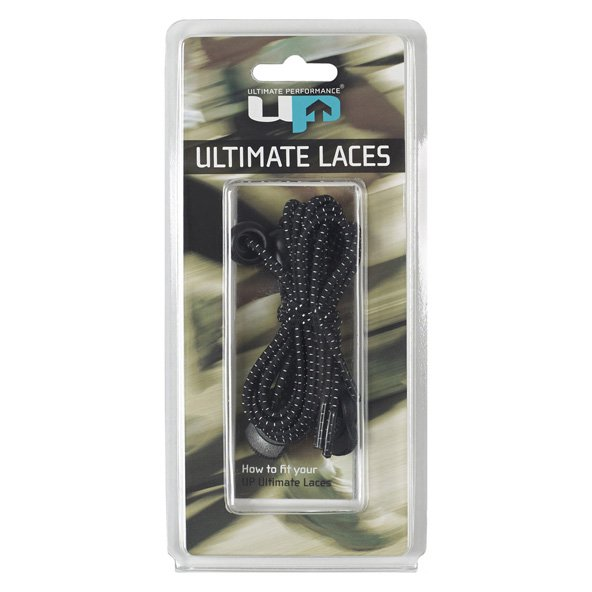 UP Elastic Laces Black
