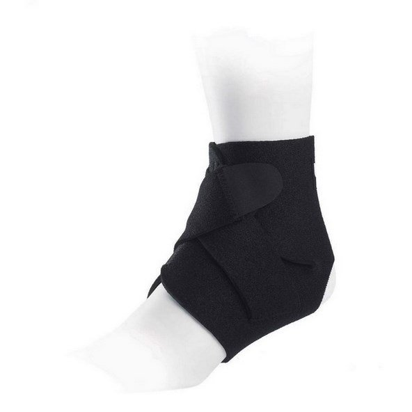 Ultimate Performance Adjustable Ankle Support Black