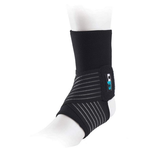 Ultimate Performance Neoprene Ankle Support Black