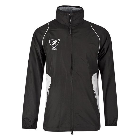 Rugbytech Full Zip Men's Climate Jacket, Black