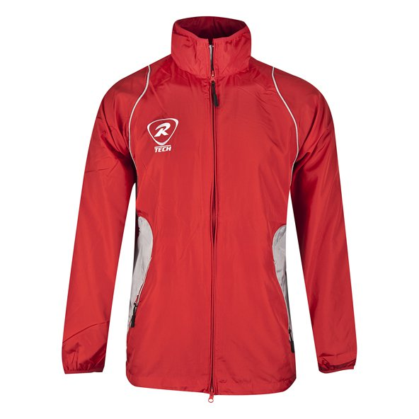 Rugbytech Full Zip Kids' Climate Jacket, Red
