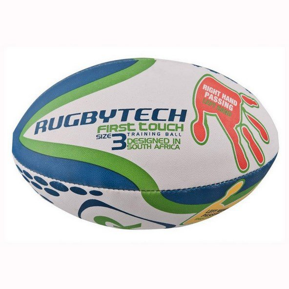 Rugbytech First Touch Training Ball, White