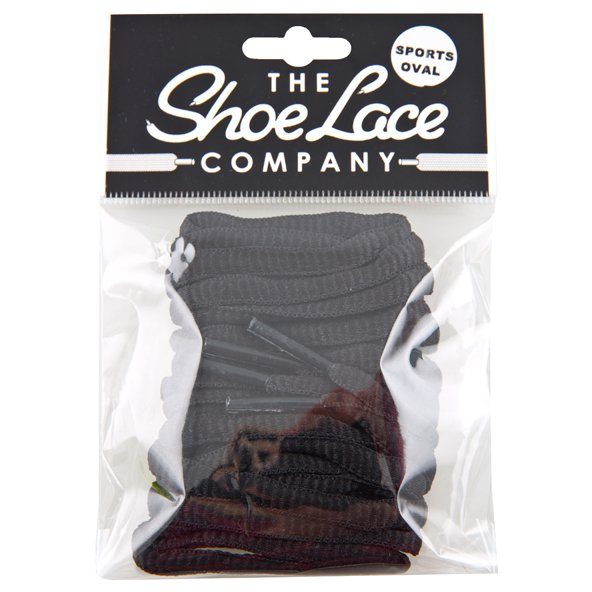 Shoe Lace Company Oval Black