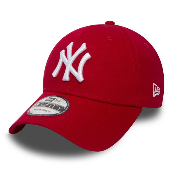 New Era NY Yankees 9Forty Baseball Cap, Red
