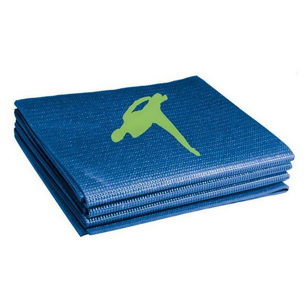 BS Foldable Exercise Mat Blue