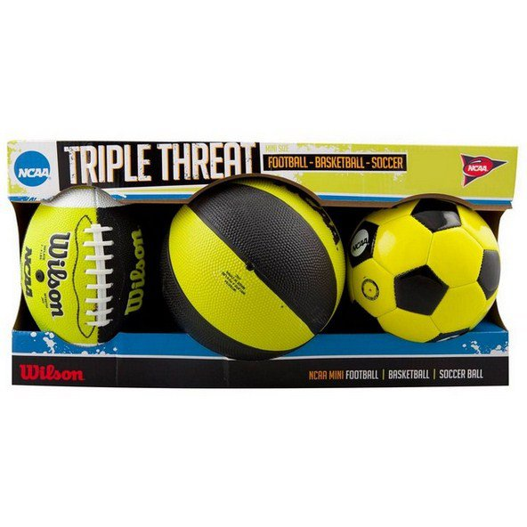 Wilson NCAA Triple Threat Kit