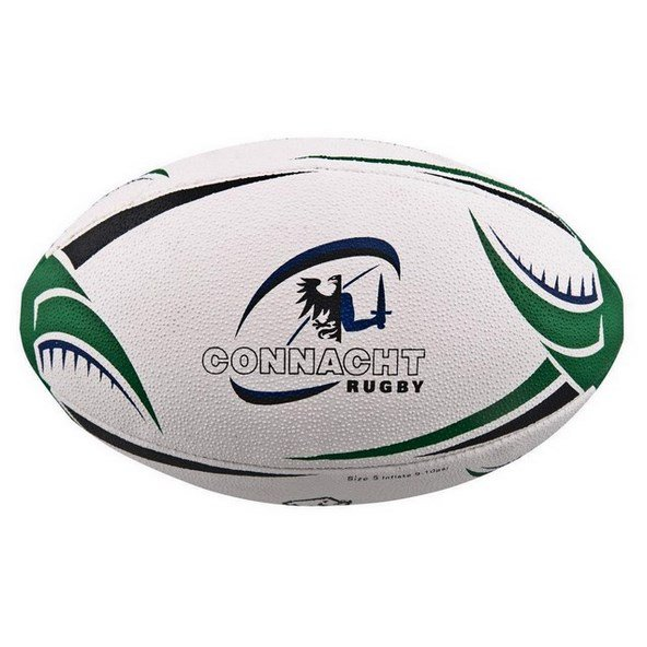 Rhino Connacht Supporters Ball Wht/Grn
