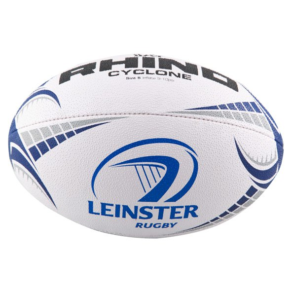 Rhino Leinster Supporters Rugby Ball, White