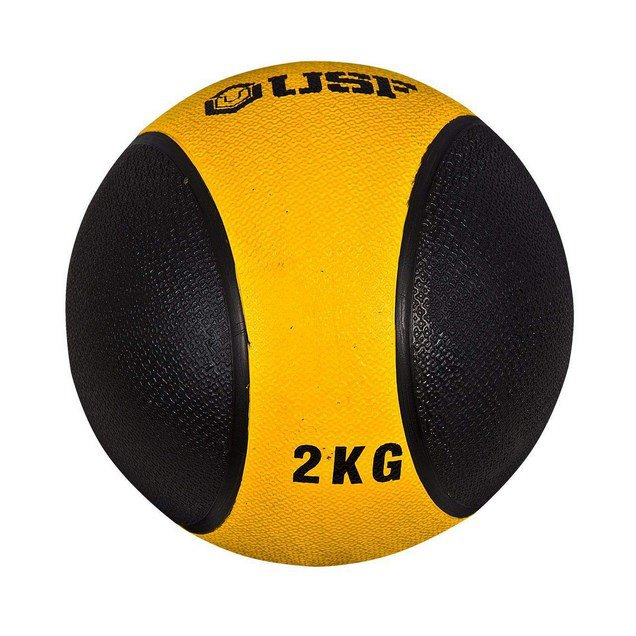 USF Medicine Ball 2Kg Yellow