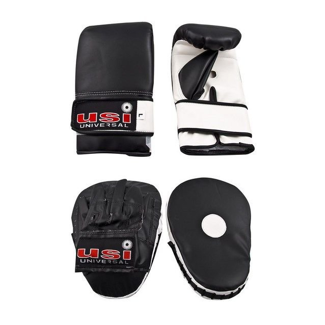 USI Hook & Jab Combo Set Men Black