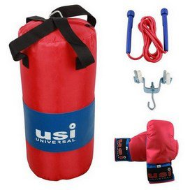 USI Youth's Fitness Kit Blue/Red