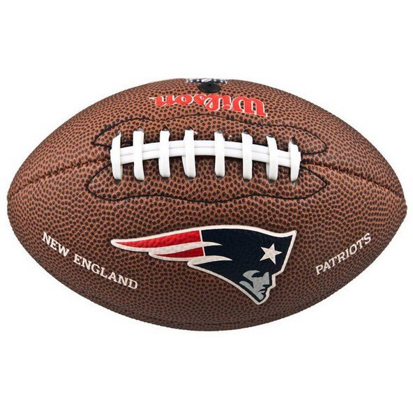 Wilson NFL NE Patriots Mini Ball Brown