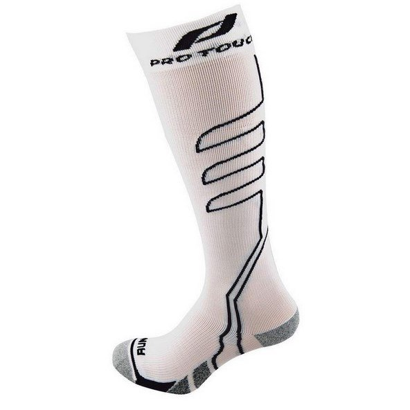 Protouch New Compression Sock M/L Wht/Bk