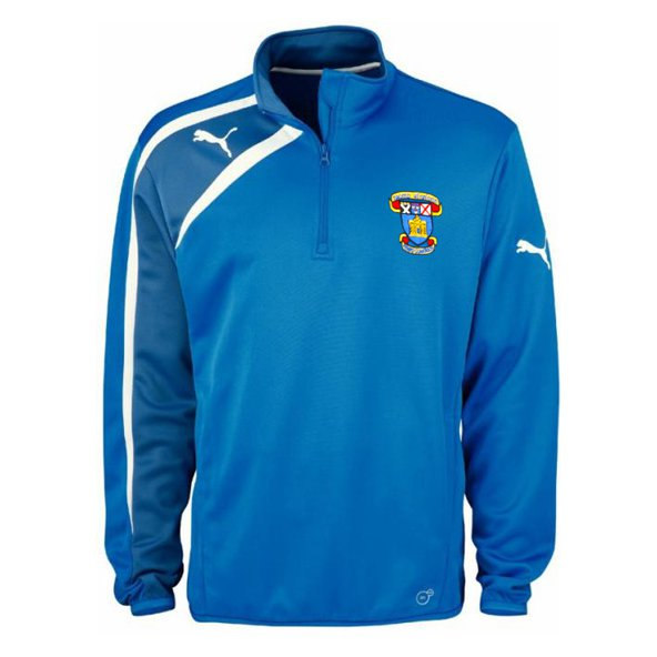 St Vincents ½-Zip Training Jacket, Blue