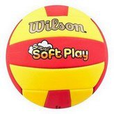 Wilson Super Soft Play Volleyball Red/Yellow