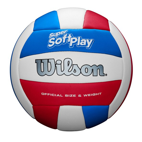 Wilson Super Soft Play Volleyball Red/White