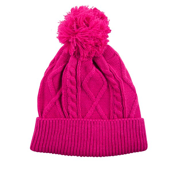 Riptear Ladies Knitted Beanie Pink