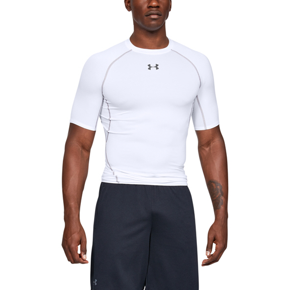 Underarmour HG Armour SS Top White