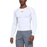 Under Armour® HeatGear® Men's Compression Top, White