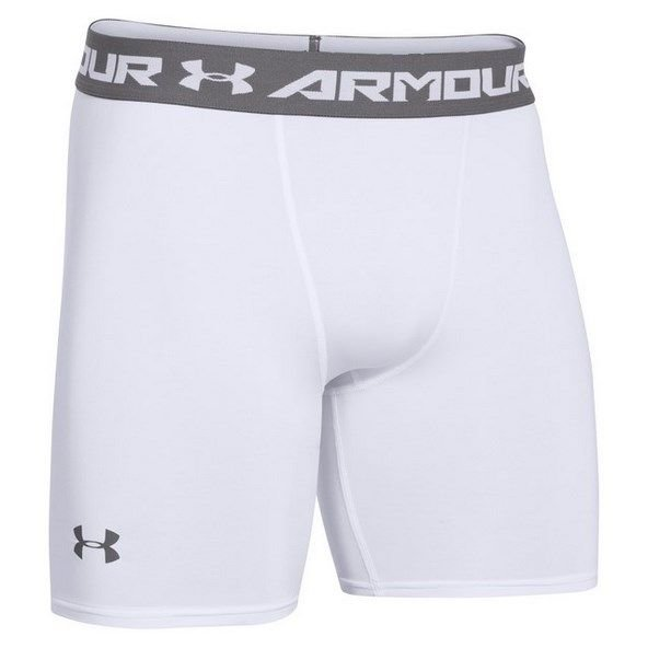 Underarmour HG Armour Comp Short Wht/Gph