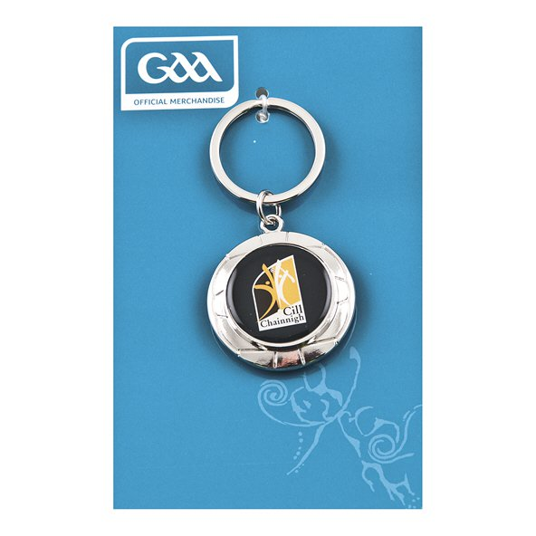 Introsport Kilkenny Chrome Keyring