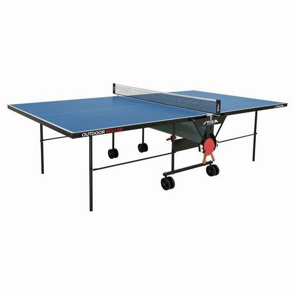 Stiga Outdoor Roller Table Tennis Table Blue
