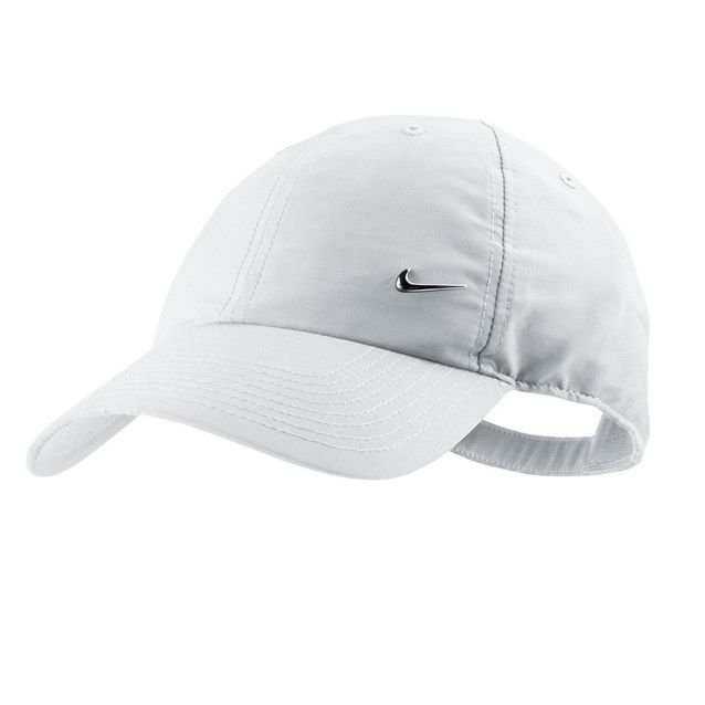 75a5cef6a81 Nike Heritage 86 Metal Swoosh Cap White ...