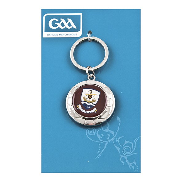 Introsport Galway Chrome Keyring