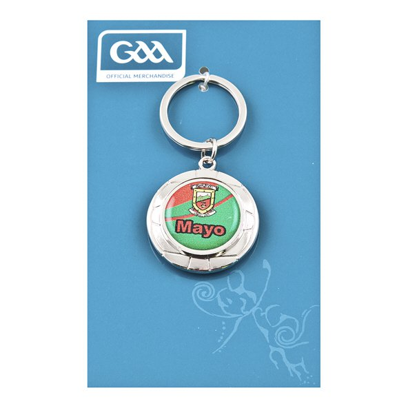 Introsport Mayo Chrome Keyring