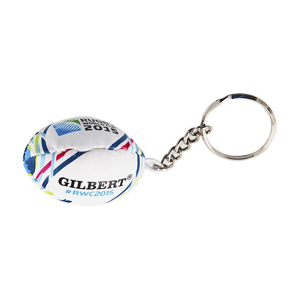 Gilbert Rugby World Cup Keyring