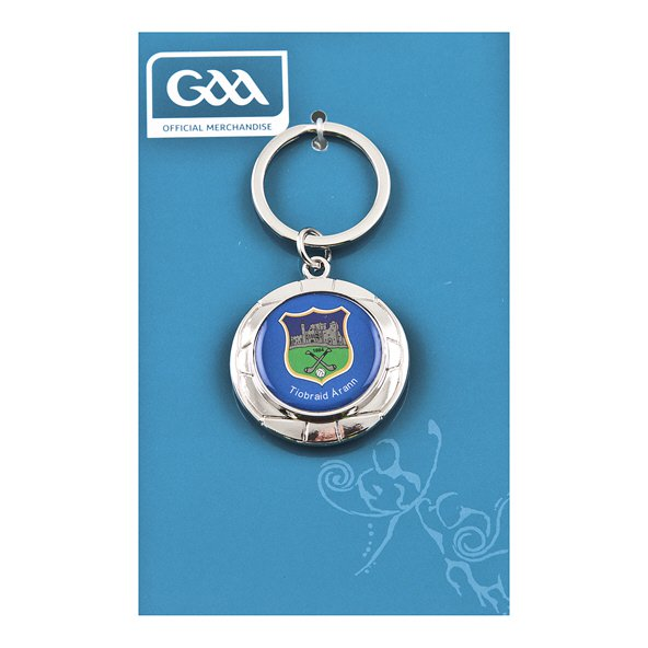 Introsport Tipperary Chrome Keyring