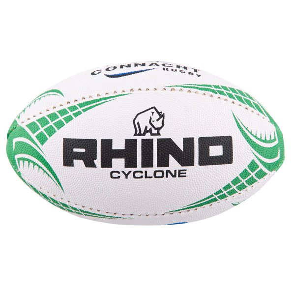 Rhino Connacht Mini Rugby Ball, White