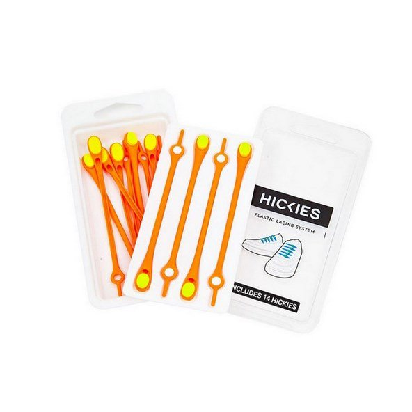 Hickies Elastic Laces Orange/Yellow