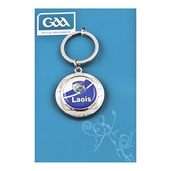Introsport Laois Chrome Keyring
