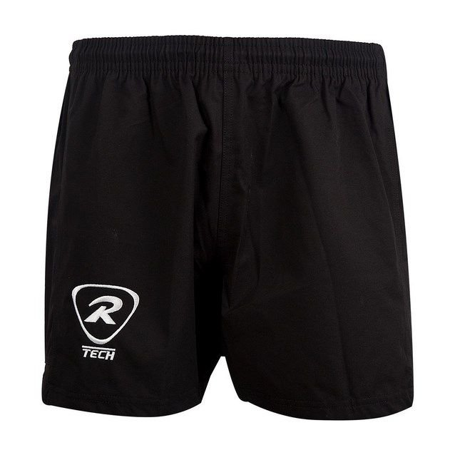 Rugbytech Unisex Tag Rugby Short, Black