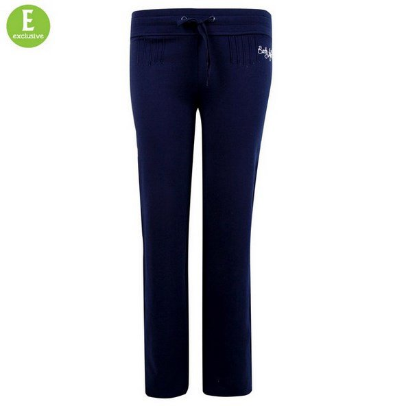 Body Logic Women's Classic Regular Leg Jog Pant Navy