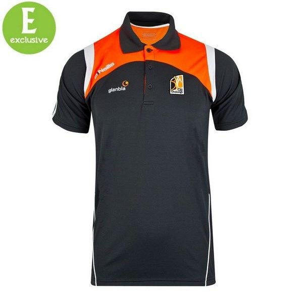 O'Neills Kilkenny Polo Gunmetal/Orange